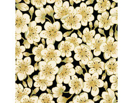 Black Ivory Blossom, Summer Palace, Lessa Chandler, The Textile Pantry, 05311950819