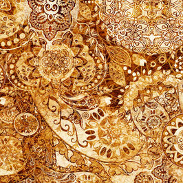 Leather&Lace, Bohemian Rhapsody, Quilting Treasures 04842550719