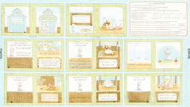 Book Panel, Bunnies, Timeless Treasures, Panel 05049750718