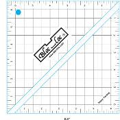 "Half Square Triangle Ruler (HST) 6 1/2"" x 6 1/2"", Bloc_Loc"