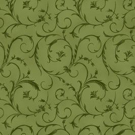 Olive Green Beautiful Batting, Maywood Studio 01137950920