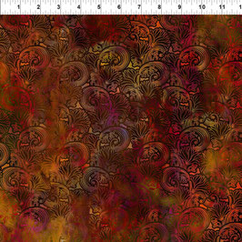 Swirl- Spice,  In The Beginning Fabrics 11073550820