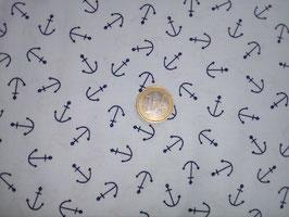 Dunkelblaue Anker auf hellblauem Grund, Dear Stella, 02380050818