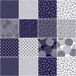 5in Squares Flair, P & B Textiles