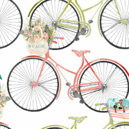 White Bicycles, Beach Travel Collection, Beth Albert, 3 Wishes 03140950521