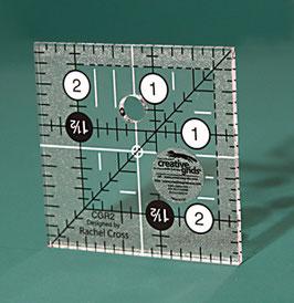 """Creative Grids Non Slip 2 1/2"""" Square"""
