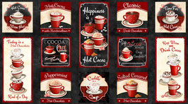 Time for Hot Cocoa, Panel, Wilmington Prints 09017750621