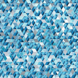 Sugar Crystal Blueberry, Sweet Somethings - Shiny Objects by Flaurie & Finch, RJR Fabrics, 12100050918