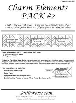 Charm Elements Pack #2, Quiltworx, Judy Niemeyer