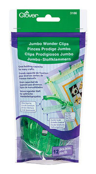 Wonder Clips, Jumbo, Clover 3166