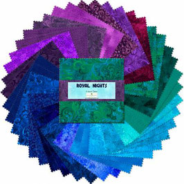 5in Squares Essential Gems Royal Nights, Wilmington Prints