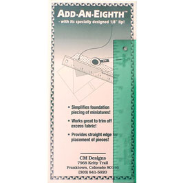 "Add-an-EighthPlus-Lineal 9"" (Breite 2"")"