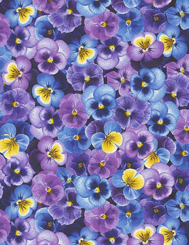 Packed Pansies, Pansy Paradise, Timeless Treasures 03151750621