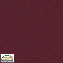 Melange 4509-413, Weinrot  Stoffabrics