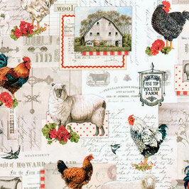 Countryside, Down on the Farm, Robert Kaufman 02205050820