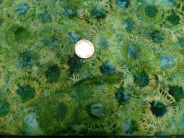 Grüne Klekse, Batik, Stof A/S, 05315550212