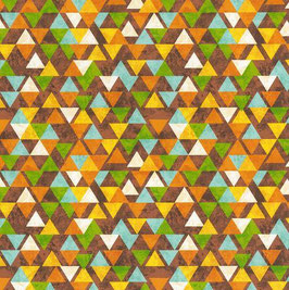 Triangles, Safariexpedition, Blank Quilting Corporation, 01777050717