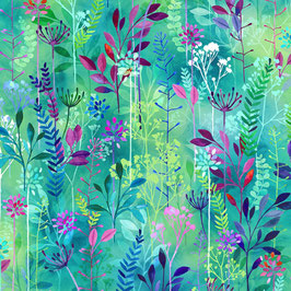 Hummingbird, Spring Song, Hoffman Fabrics 02245150721