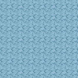 Swirling Texture Light Teal, Butterfly Fandango, Ann Lauer, Benartex, 01047950419