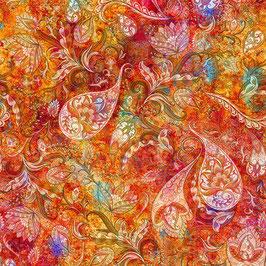 Summer, Floral Rhapsody, Hoffman Fabrics 02295150721