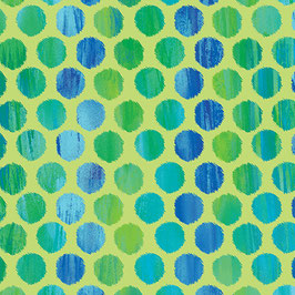 Sun Burst, Fuzzy Dot Lime , Kanvas Studios, Benartex 02098750518