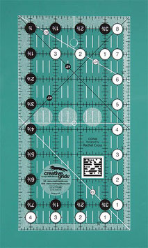 "Creative Grids Non Slip Quilt Ruler 4 1/2"" x 8 1/2"""
