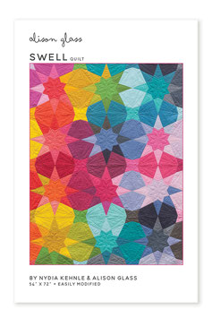 "SWELL QUILT PATTERN (54"" x 72"")"