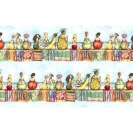 Fruit Ladies Blue, Elizabeth´s Studio 01051950821