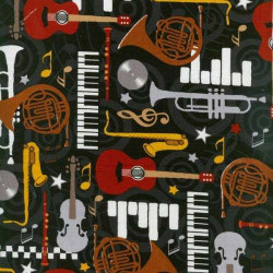 Musikinstrumente, We Got The Beat, Blankquilting, 11082050714