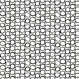 schwarze Kreise, Stof A/S Fabrics, 06379550618