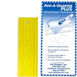 "Add-a-Quarter Plus Lineal 6"" (Breite 2"")"