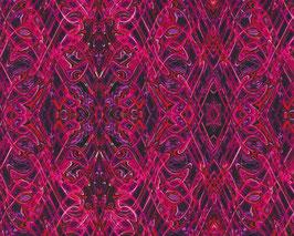 Kismet Flash Dance Fuchsia, Paula Nadelstern, Benartex 06216550617