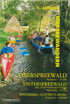 Wasserwanderkarte Spreewald inklusive Oberspreewald & Unterspreewald