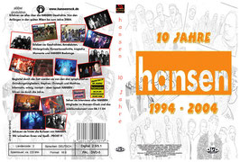 """DVD """"10 Jahre hansen"""""""