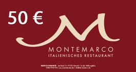 GUTSCHEIN für Montemarco
