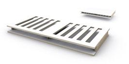 Doppelplatte  (Kinderbettboden / Bankboden / Schreibtischplatte)