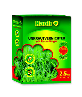 Hack Unkrautvernichter mit Rasendünger NPK 22-5-5 und 2,4 D