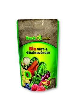 Hack Bio Obst- & Gemüsedünger NPK 5-3-2 im 700g Standbodenbeutel