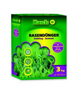 Hack Rasendünger Frühling/Sommer NPK 16-4-6 + 3% MgO