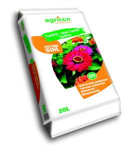 Agricon - Universalblumenerde im 20 ltr. Sack