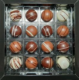 Coffret de 16 caramels assortis