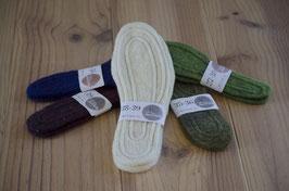 Semelles confortables en laine feutrée