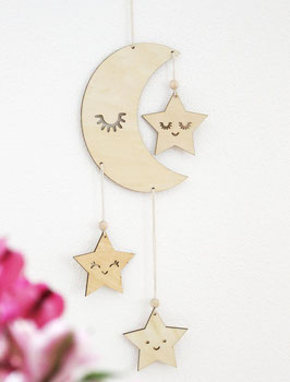 Mobile - Mond & Sterne