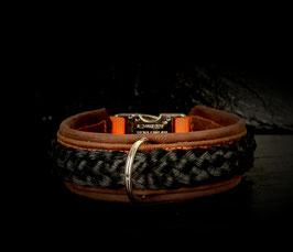 Argasto Hundehalsband Schwarz