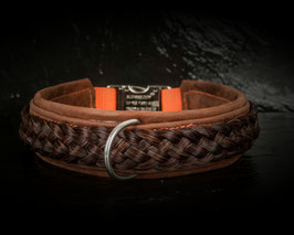 Argasto Hundehalsband Braun