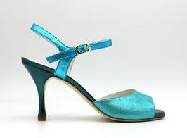 Uno Turquoise talons 8cm