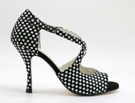 Croisé Black&White talons 9cm