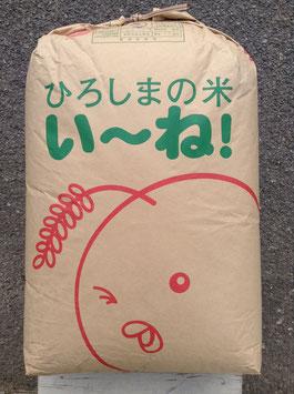 西能良コシヒカリ25kg玄米を白米に精米約22.5kgx6回コース