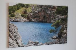 Ausstellungsstück  -   Mallorca vor der Paradiesschlucht
