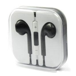 Kopfhörer mit Fernbedienung und Mikrofon - schwarz
